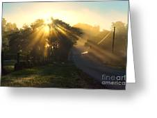 Let His Light Shine Greeting Card