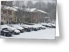 Let It Snow Snow Snow Greeting Card