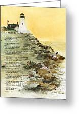 Let Me Be By The Sea Greeting Card