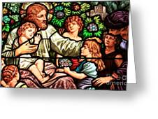 Let The Children Come To Me Greeting Card