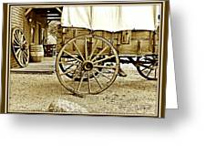 Let The Old Times Roll Greeting Card