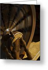 Let The Spinning Wheel Spin Greeting Card