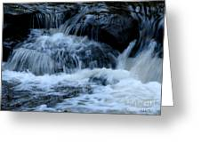 Letchworth State Park Genesee River Cascades Greeting Card