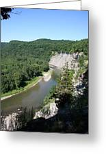 Letchworth State Park Genesee River I Greeting Card