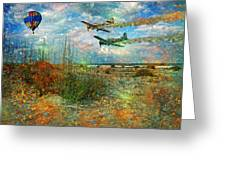 Let's Fly Greeting Card