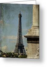 Letter From Paris Greeting Card