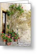 Levroux France Entrance Greeting Card