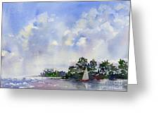 Leeward The Island Greeting Card