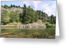 Lewis River Landscape Greeting Card