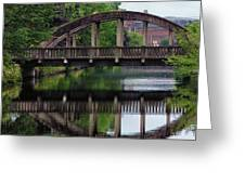 Lewiston Canal Bridge Greeting Card