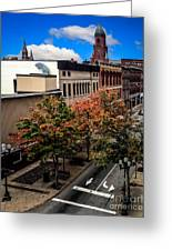 Lewiston Maine In Fall Greeting Card