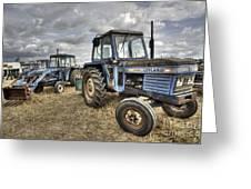 Leyland Tractors  Greeting Card