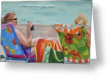 Ladies' Beach Retreat Greeting Card