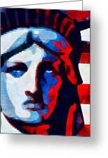 Liberty 3 Greeting Card