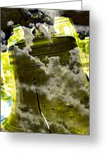 Liberty Bell 3.2 Greeting Card