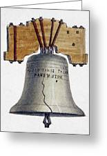 Liberty Bell Greeting Card