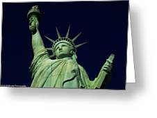 Liberty New York Casino Greeting Card