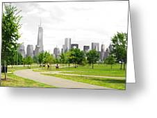 Liberty Park Greeting Card