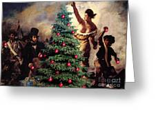 Liberty Places Star On The Tree Greeting Card