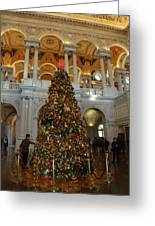Library Of Congress - Washington Dc - 011310 Greeting Card by DC Photographer