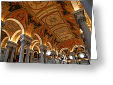 Library Of Congress - Washington Dc - 011317 Greeting Card by DC Photographer