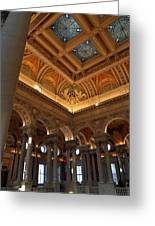 Library Of Congress - Washington Dc - 011321 Greeting Card by DC Photographer