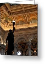 Library Of Congress - Washington Dc - 01134 Greeting Card