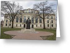 Library Ohio State University  Greeting Card