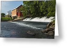 Lidtke Mill 1 A Greeting Card
