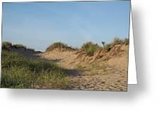 Lieutenant Island Dunes Greeting Card