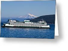 Life Around The San Juan Islands - Washington Greeting Card