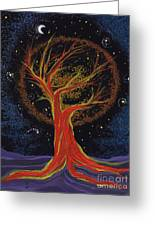Life Blood Tree By Jrr Greeting Card