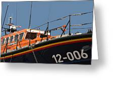 Life Boat Greeting Card