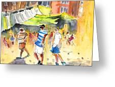 Life In Cartagena 01 Greeting Card