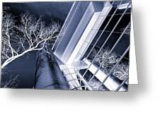 Life In Glass Mono 3 Greeting Card