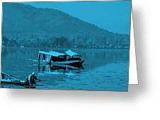 Life In Kashmir  Greeting Card