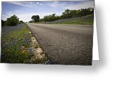 Life Is A Highway  Greeting Card by Lynn Bauer