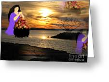 Life Is Gold Greeting Card