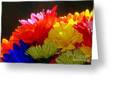 Life Is Short Buy The Flowers Greeting Card