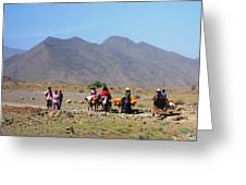 Life On The Atlas Mountains Greeting Card