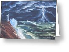 Life Storm Greeting Card