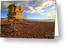 Lifeguard Off Duty Maui Hawaii Greeting Card