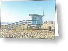 Lifeguard Station #13 Greeting Card