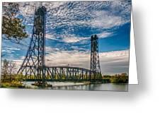 Lift Bridge 3d21789 Greeting Card