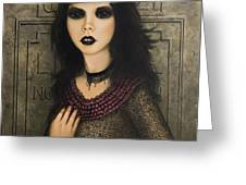 Ligeia Greeting Card