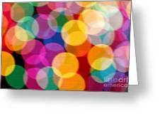 Light Abstract Greeting Card