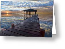 Light At The Lake Greeting Card