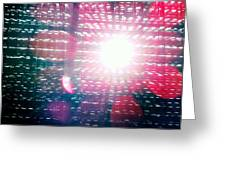Light Beams Greeting Card