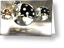 Light Bowls Greeting Card