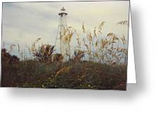 Light House Landscape Greeting Card